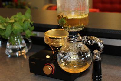Syphion Pot The Taste of Tea